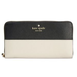 Kate spade wallet new color block